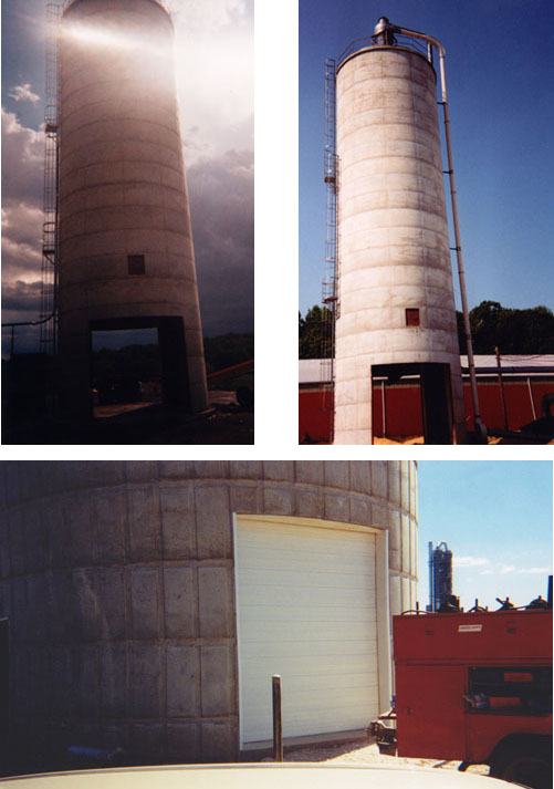 Drive Thru Fill Silos from Mast Lepley